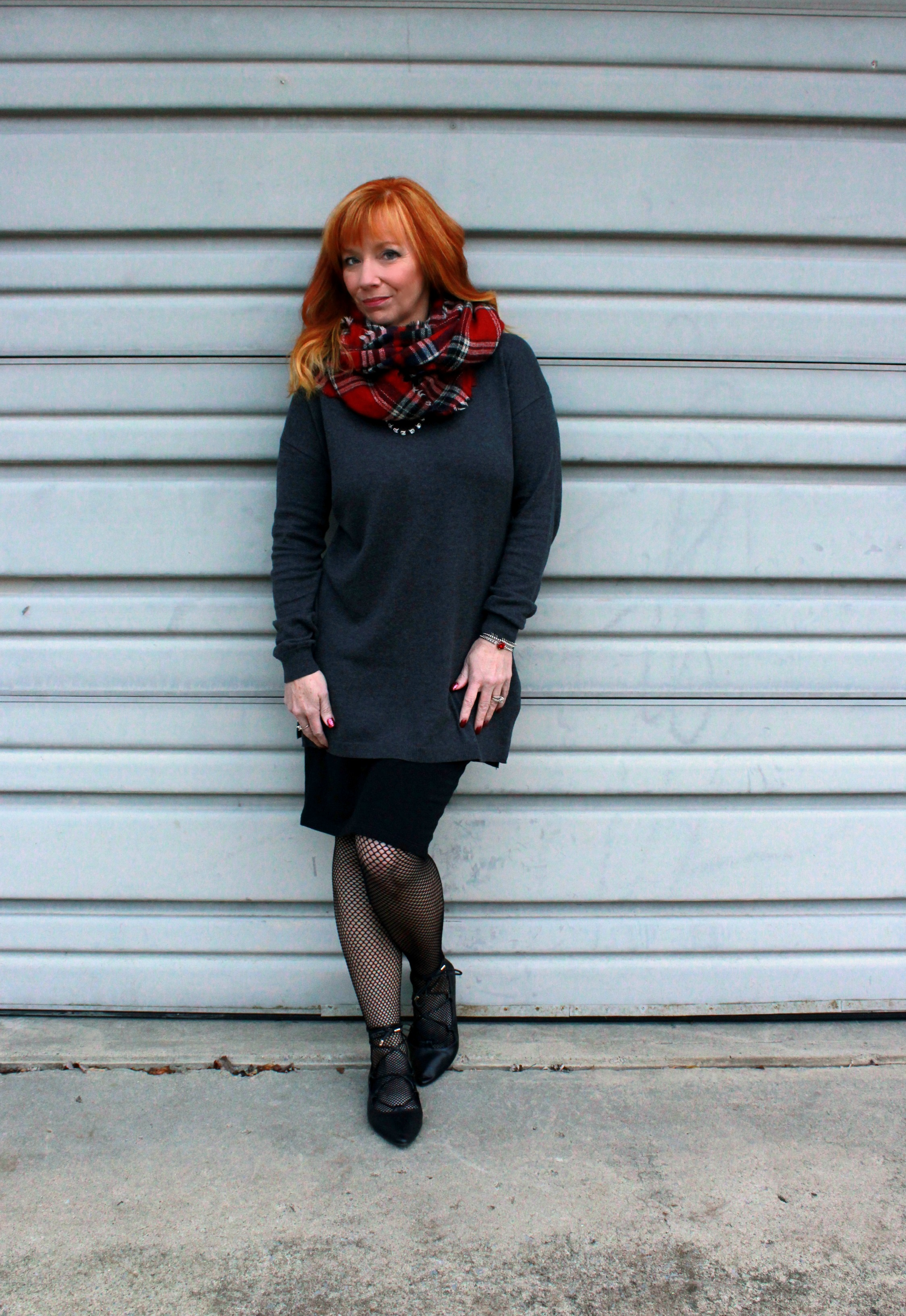 Lace Up Flats & Kushyfoot Fishnet Tights: Where Does The Time Go ...