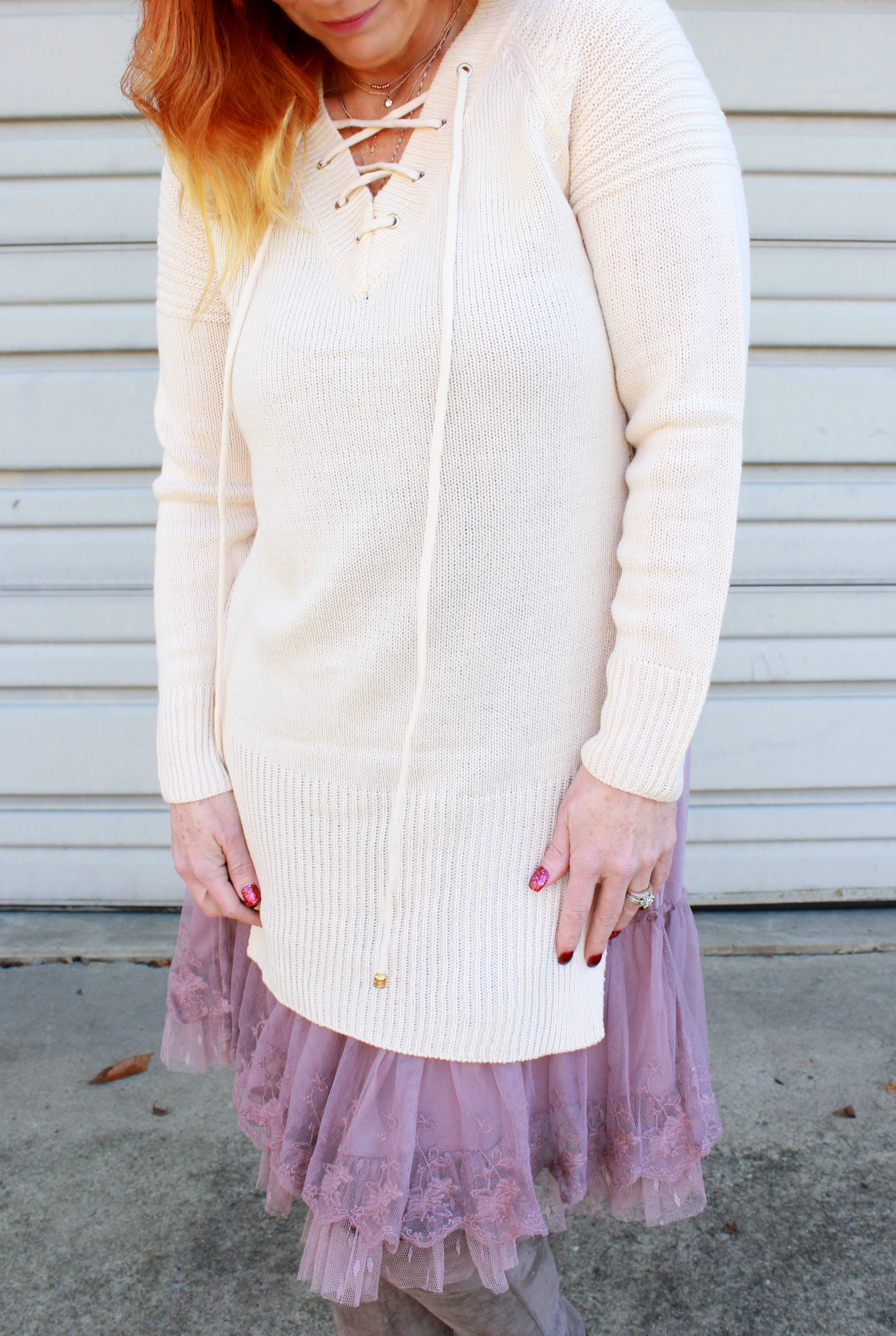 Lace Slip Dress & Tunic Sweater: It's Really, Really Official ...