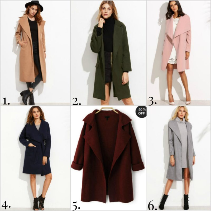 Winter coat wish list.