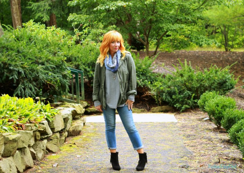 Black Suede Ankle Boots & Utility Jacket: This One Time At Soccer Camp…
