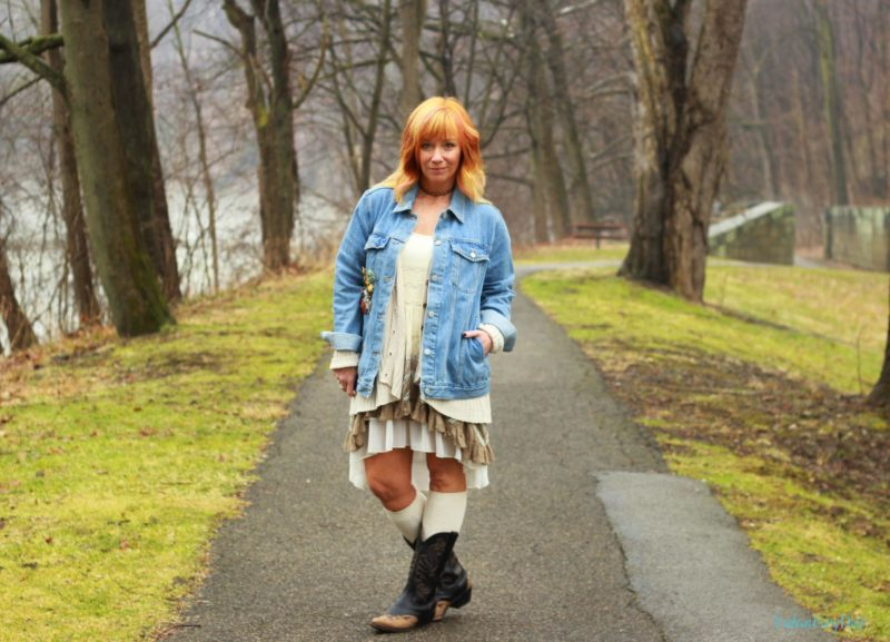 Cowboy Boots & Boho Tunic: Second Time Around