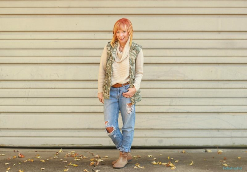 Cowl Neck Sweater & Birkenstock Ankle Boots: A Fresh Perspective