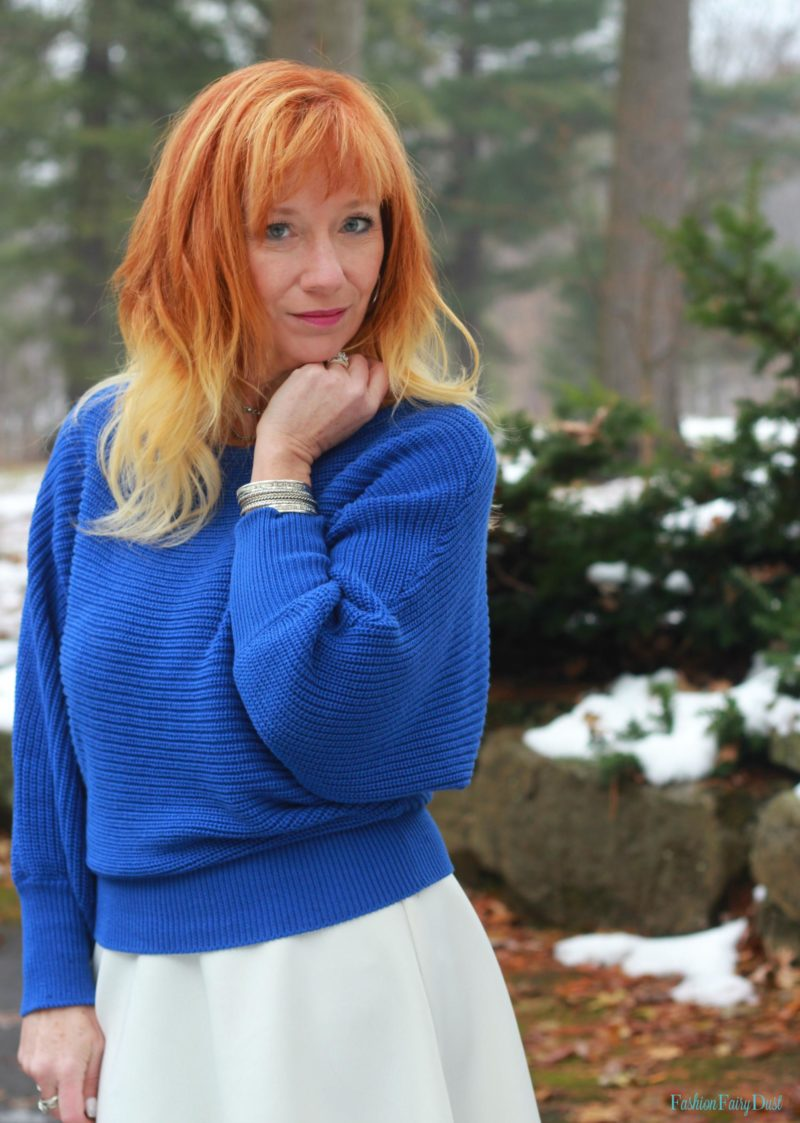 Camera Bag & Blue Sweater: Time For A Breather - Fashion Fairy Dust