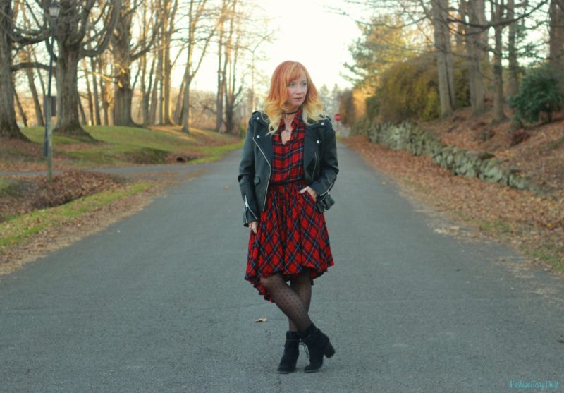 Plaid Dress & Moto Jacket: Twenty More Days…