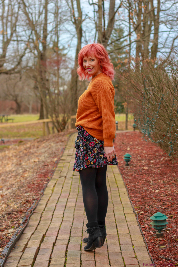Wild Fable Skirt Amp Mustard Sweater Where Does The Time Go
